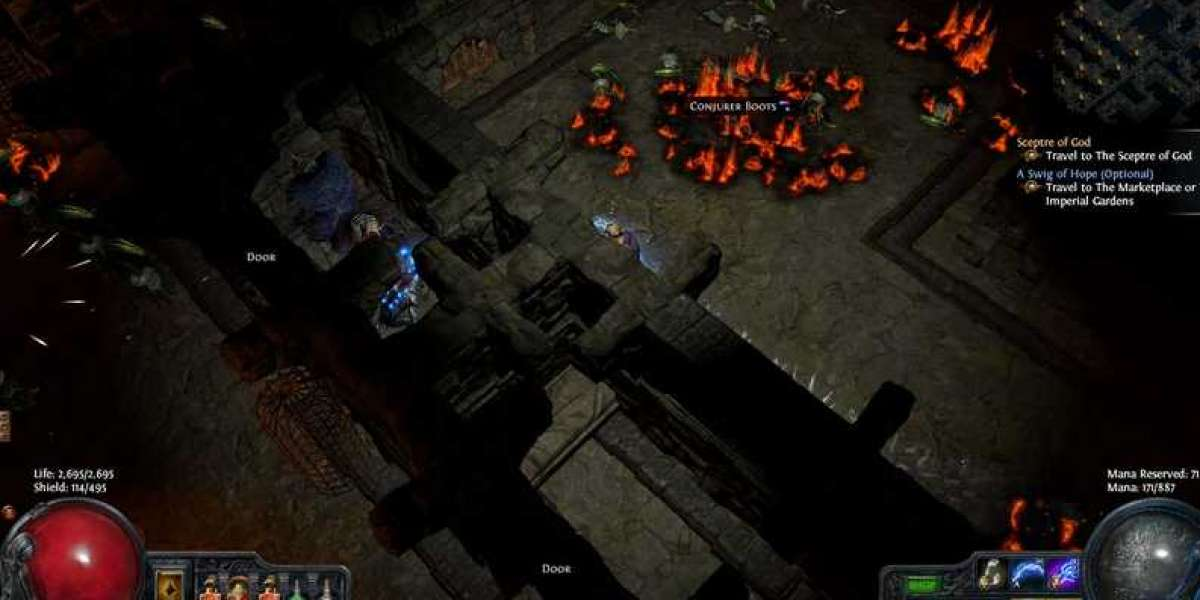 Path of Exile: 3 rare orbs in the game