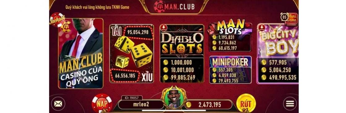 Manvip Cổng game bài Man club Cover Image