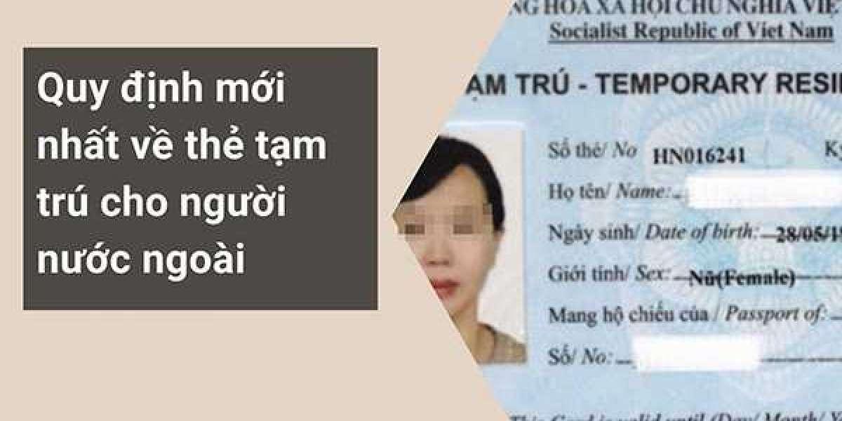 Đối tượng được cấp thẻ tạm trú Việt nam