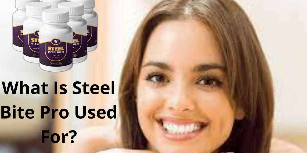Steel Bite Pro Dietary Supplement For Oral Health