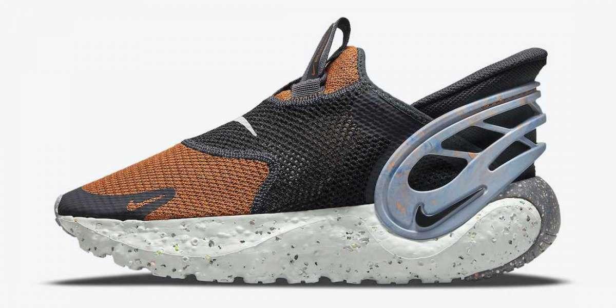 "2021 New Nike Glide FlyEase ""Mesa Orange"" Mesa Orange/Black-Grey Fog-Black DN4919-800"