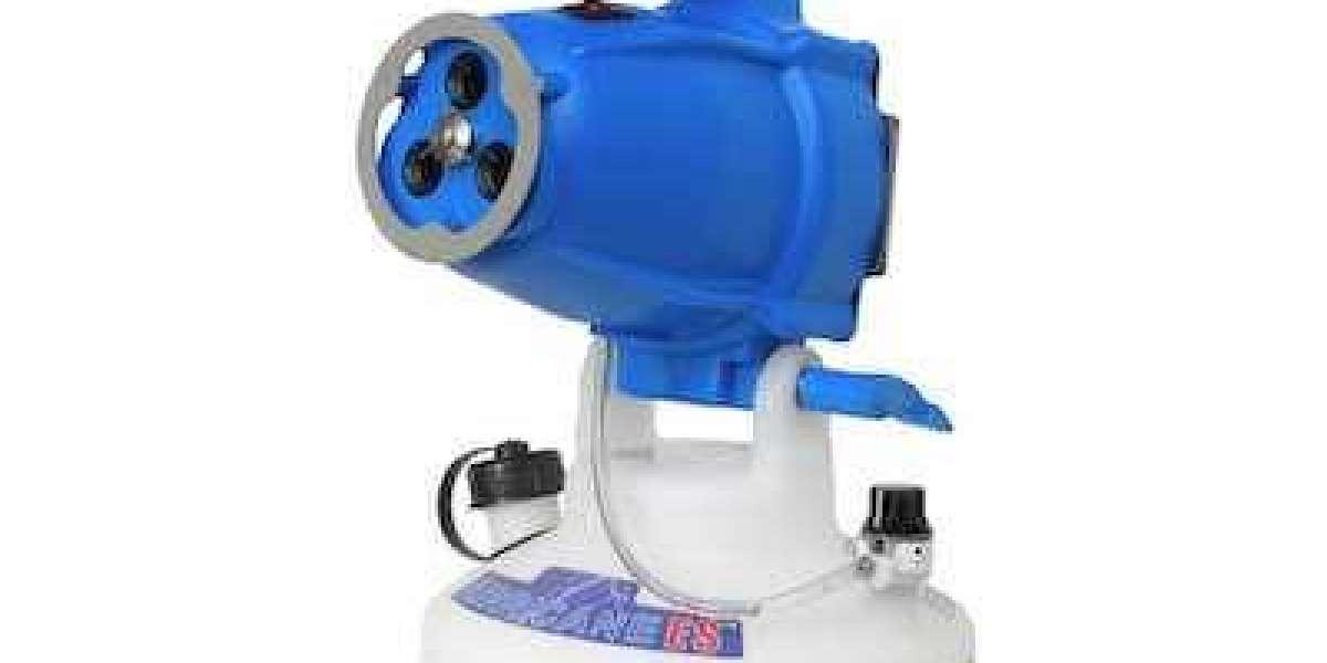 Characteristics of foam sprayer