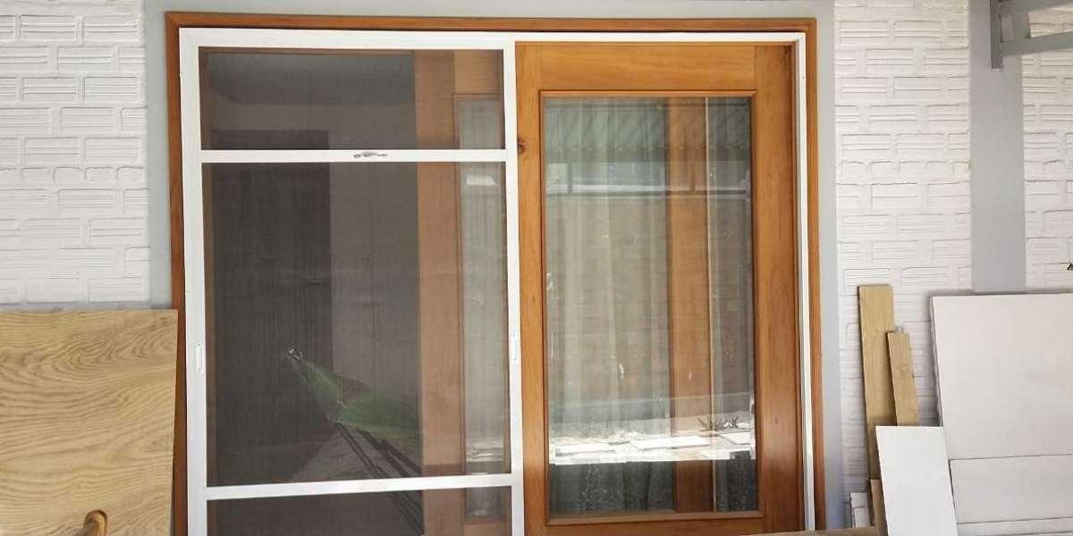 Thi công lắp đặt cửa lưới chống muỗi tại TP HCM