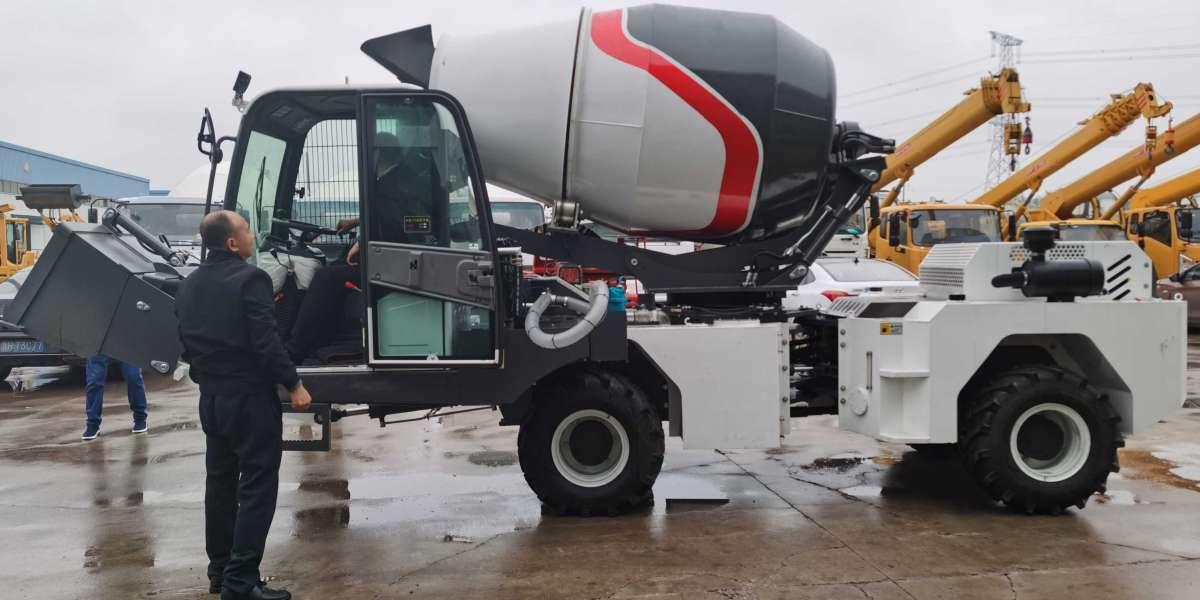 portable concrete mixer meet your construction need